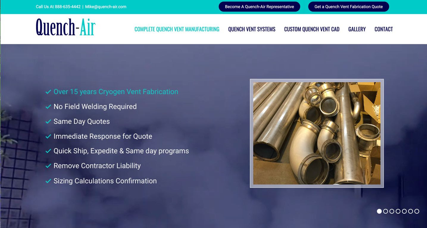 , Quench Vent Manufacturing